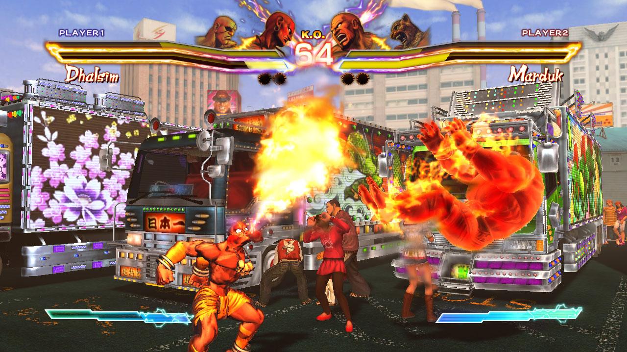 Tanto monta, monta tanto: Vídeos de Street Fighter x Tekken