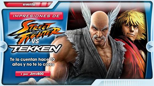 Impresiones con Street Fighter X Tekken. Te lo cuentan hace 10 años y no te lo crees…
