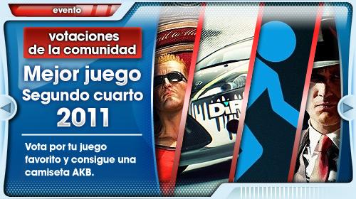 Encuesta Mejores Juegos Segundo Trimestre 2011