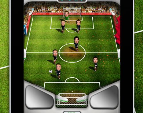 Stadium Pinball, Fútbol y Pinball mezclados para tu iPad [Spaniard Developers]