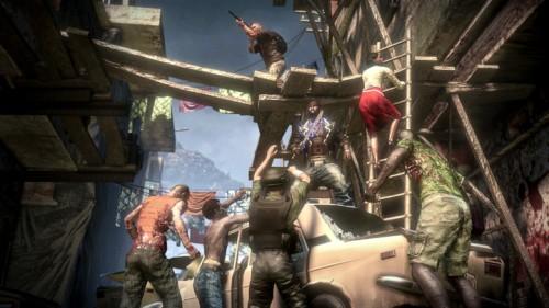 La mejor manera de superar el síndrome postvacacional: rodearte de amigos y liarse a palos con los zombies.