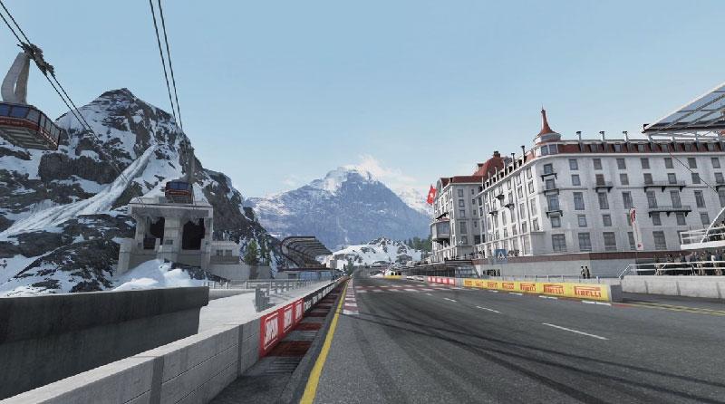 Forza 4: Realizando el circuito de Los Alpes