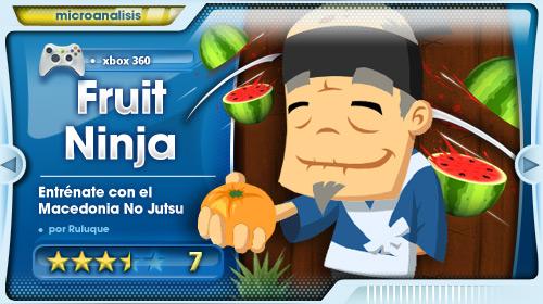 Fruit Ninja Kinect – Análisis Xbox 360