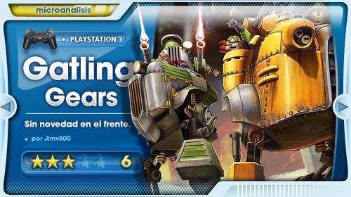 Análisis de Gatling Gears para PlayStation 3