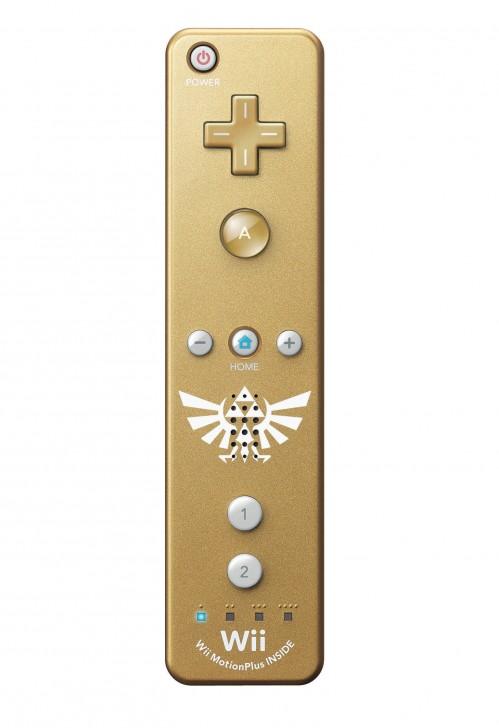 Así son el Wiimote dorado y la caja de la Edición Especial de Zelda Skyward Sword