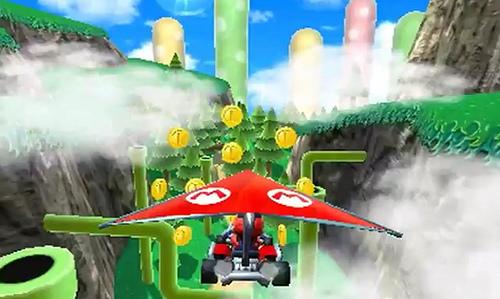 Mario Kart 7 una de las razones de peso de 3ds, te pillará cortando el turrón.