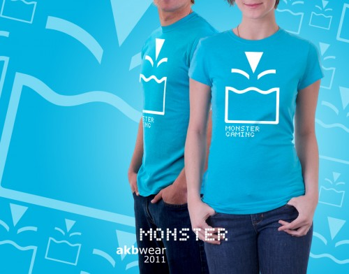 AKB «Monster Gaming» T-Shirt by Roswell