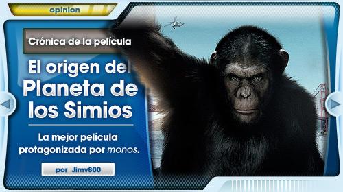 El Origen del Planeta de los Simios: la mejor película protagonizada por monos, con el permiso de de Franklin J. Schaffner.