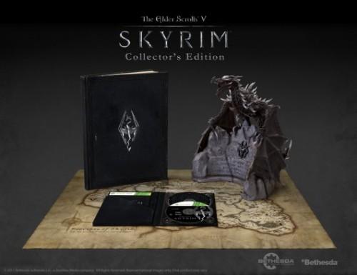 La Edición Coleccionista de Skyrim