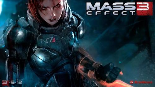 Pelirrojas espaciales en Mass Effect 3