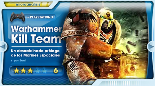 Análisis de Warhammer: Kill Team para PlayStation 3