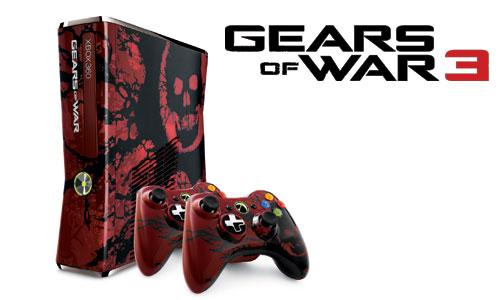 Mamá, mamá ¿puedo comprar otra 360?… ¡Que es una edición especial de Gears of War!