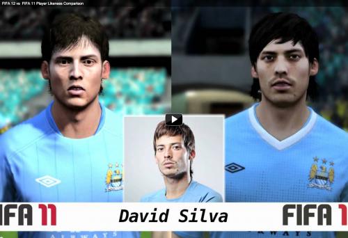 Tévez es más guapo, Rooney tiene más pelo y Chicharito se parece más: comparativa caras FIFA 11 vs FIFA 12