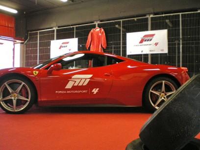 Asistimos a la presentación de Forza 4 conduciendo un Ferrari