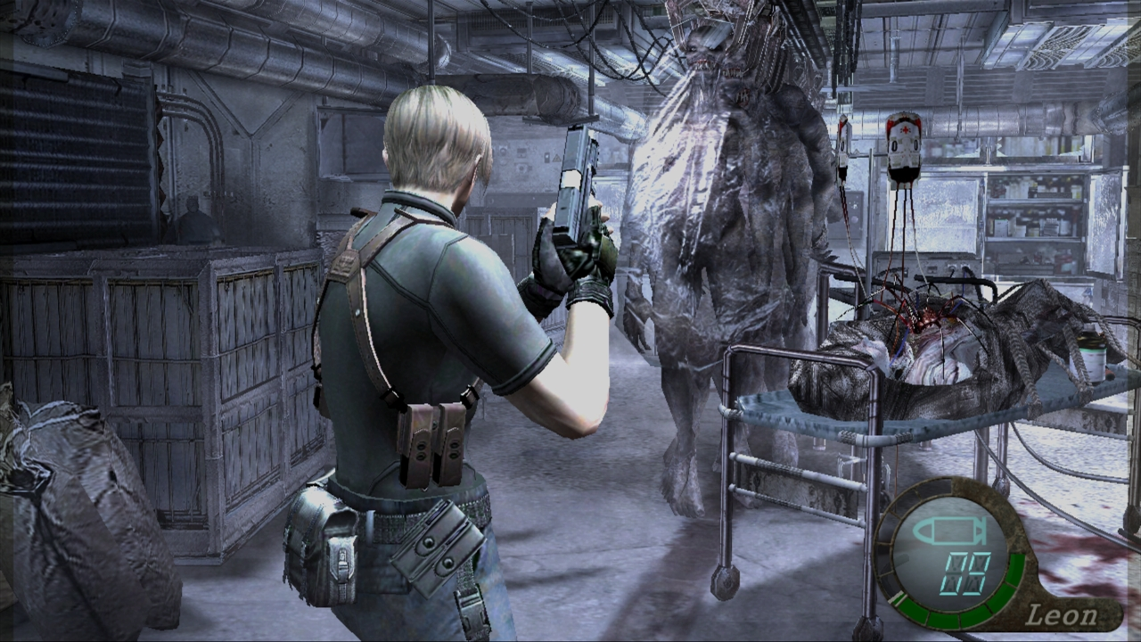 Resident Evil 4 HD Vs SD
