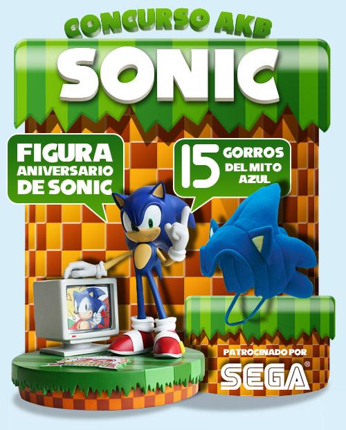 Ganadores del Gran Concurso Aniversario de Sonic