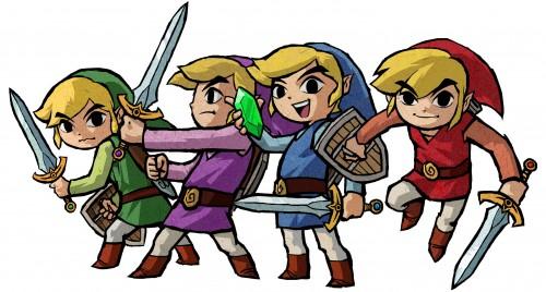Celebra las bodas de plata de Link llevándote GRATIS Zelda Four Swords
