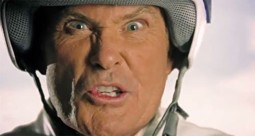 Experiencia sensorial: David Hasselhoff y el trailer de Burnout Crash