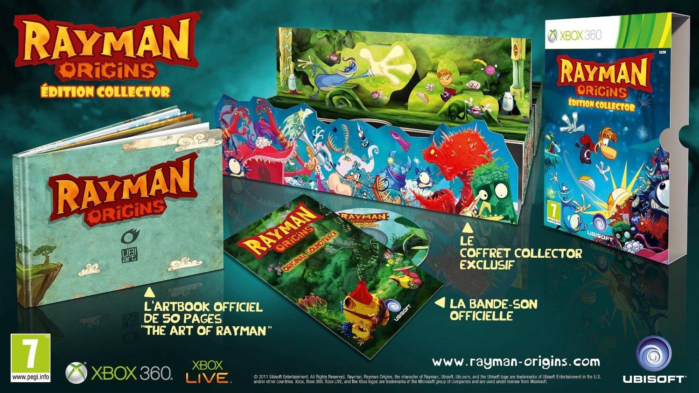Rayman Origins: Primeros detalles de su Edición Coleccionista