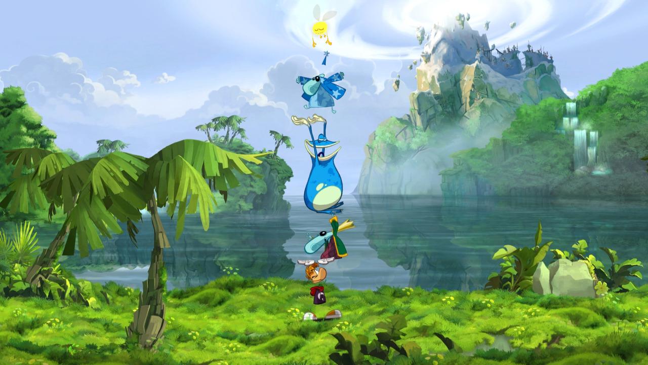 El fantástico Rayman Origins ya tiene fecha de salida