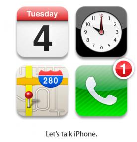 El 4 de Octubre se presenta el nuevo iPhone. Que empiece el hype.