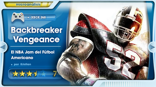 """""""Backbreaker Vengeance es el NBA Jam del Fútbol Americano"""" [Análisis Xbox 360]"""
