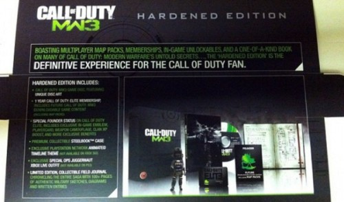 Así es la «Hardened Edition» de Modern Warfare 3, ¿o no?