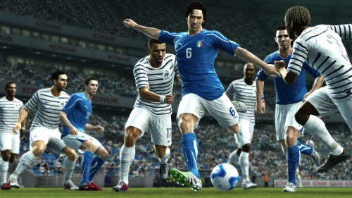 [PES 2012] Fuera de juego de Xbox 360 en la primera demo