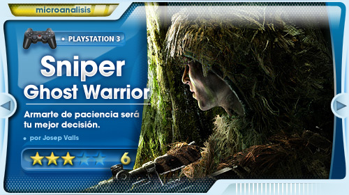 Análisis de Sniper: Ghost Warrior para PS3