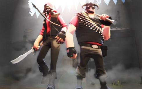 Hilarante vídeo de Team Fortress 2 & Skyrim
