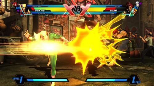 Ultimate Marvel  Vs Capcom 3 deja KO al pase online