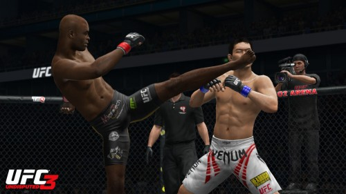 [Vídeo] Anderson Silva es el elegido para protagonizar la caratula de UFC Undisputed 3