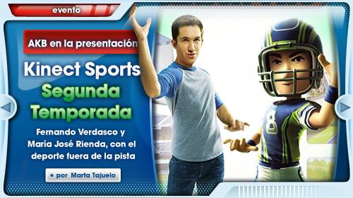 Presentación Kinect Sports: Segunda Temporada