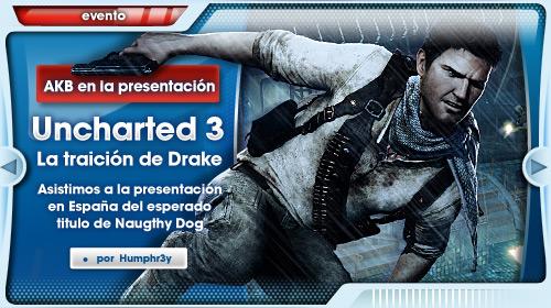 Presentación de Uncharted 3