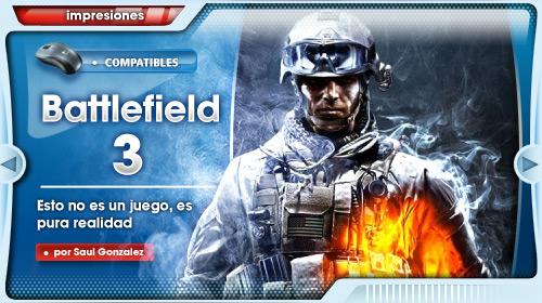 [Impresiones] Battlefield 3 se hace fuerte gracias a los pequeños detalles