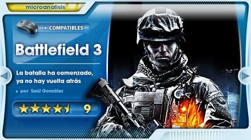 Campo de batalla: tu casa [Análisis de Battlefield 3 para PC]