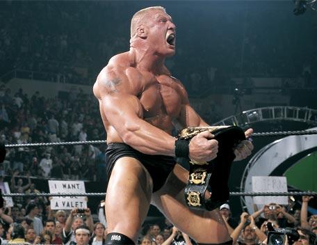 Nuevo vídeo de WWE 2012.  Brock Lesnar: Más grande, más malo, mejor.