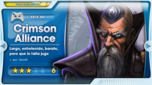 Análisis de Crimson Alliance para Xbox Live