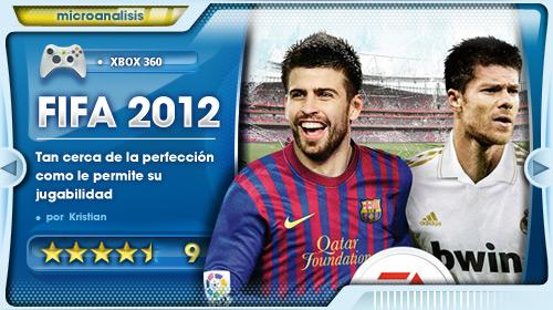 Análisis de FIFA 2012 para Xbox 360