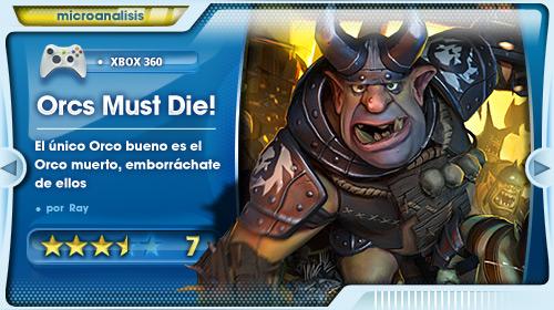 Análisis de Orcs Must Die! para Xbox 360