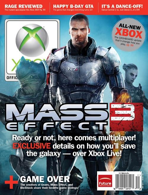 Ya es oficial: Mass Effect 3 tendrá modo online