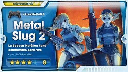 Análisis de Metal Slug 2 para PS3