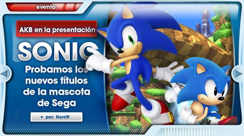 Sonic se presenta con fuerza e imparable