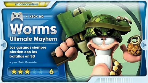 Análisis de  Worms: Ultimate Mayhem para Xbox 360