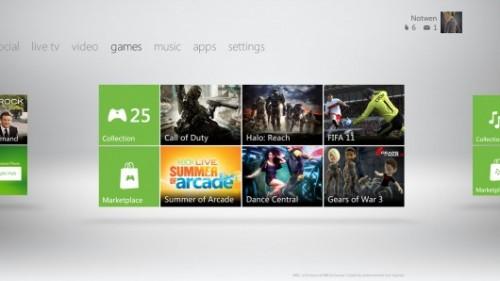 La nueva interfaz de Xbox 360 estará disponible a partir del día 6 de diciembre