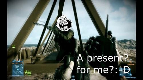 El «vídeo frag» más troll de Battlefield 3 te garantiza unas buenas risas