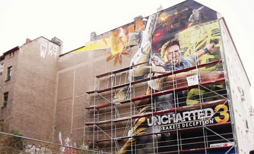 Graffitti Uncharted 3