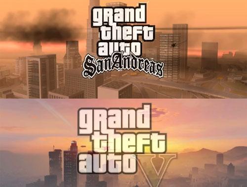 Comparación gráfica San Andreas vs GTA V