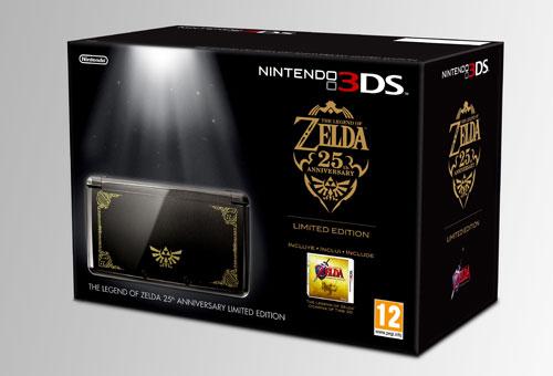 3DS edición 25 aniversario de Zelda: Simplemente elegante