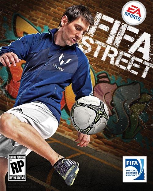 Messi estará en la portada del nuevo FIFA Street